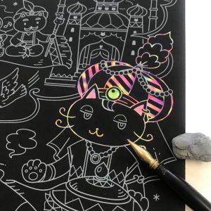 ネコと不思議な魔法の世界  Rica