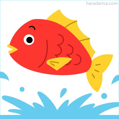 鯛キャラクターデザイン