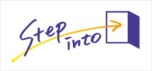 明治大学 Step into ロゴ